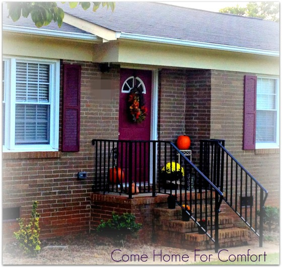 Decorating the Front Porch For Fall Come Home For Comfort
