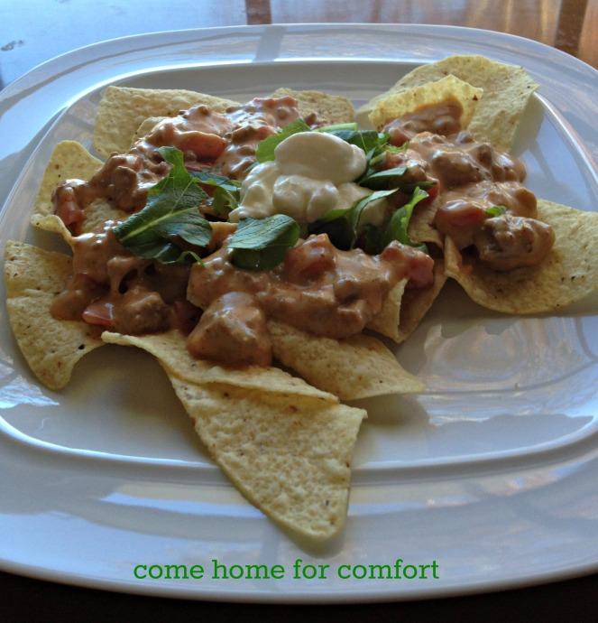 Crockpot Nachos Come Home For Comfort 4