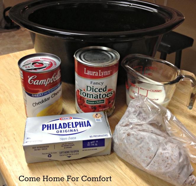 Crockpot Nachos Come Home For Comfort