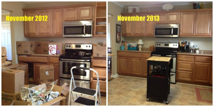 Kitchen Before and After Come Home For Comfort