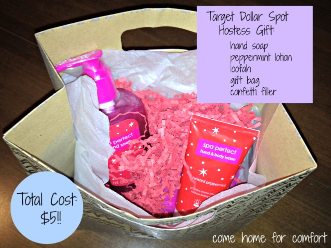 target hostess gift come home for comfort