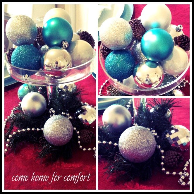 Christmas Eve Centerpiece Come Home For Comfort