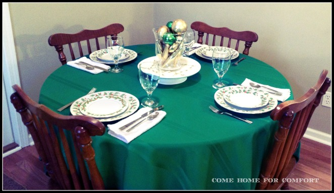 traditional christmas setting come home for comfort 3