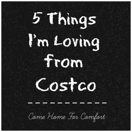 5 Things I'm Loving From Costco from Come Home For Comfort