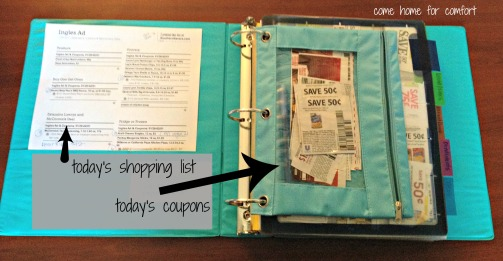 coupon binder 4 come home for comfort