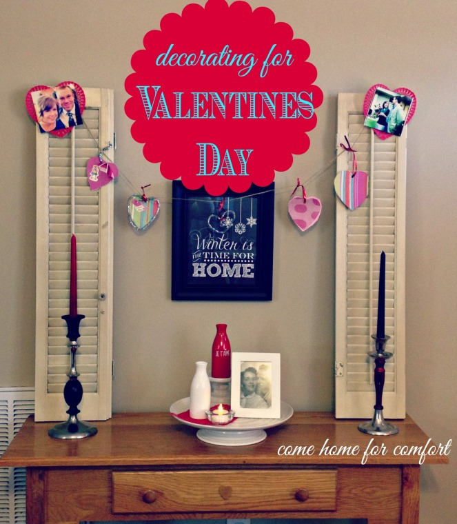 decorating for valentines day