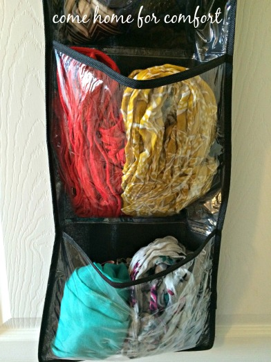 scarf organization close come home for comfort