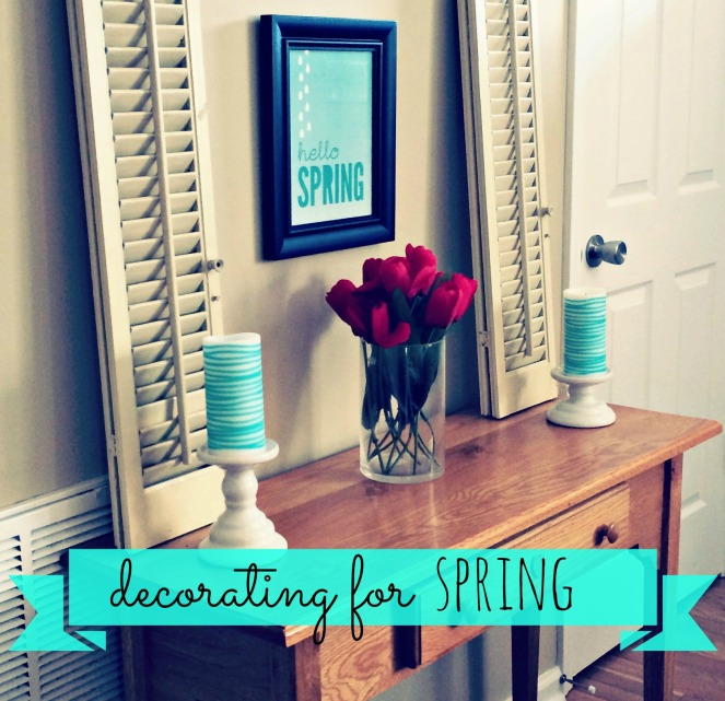 Decorating for Spring Come Home For Comfort 3