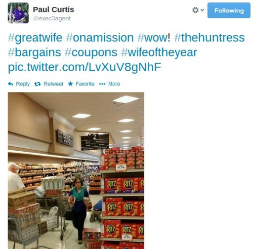 grocery tweeting