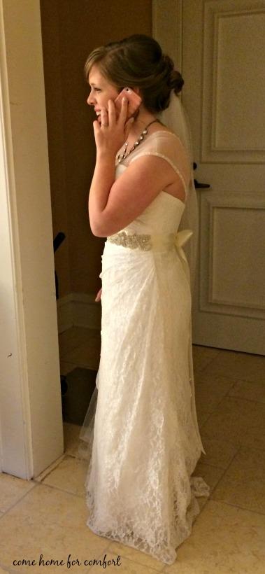 alli wedding day
