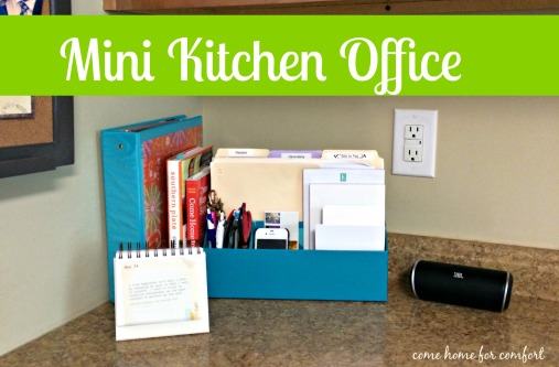 Mini Kitchen Office Come Home For Comfort