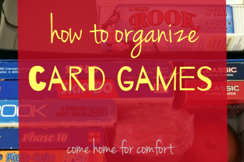 How to Organize Card Games 4