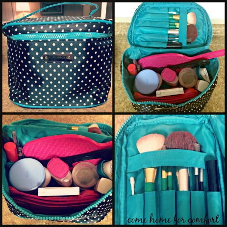 Organizing Makeup for Travel