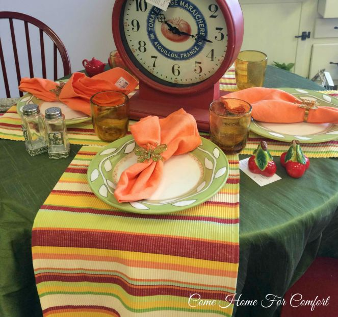 Setting A Summer Table
