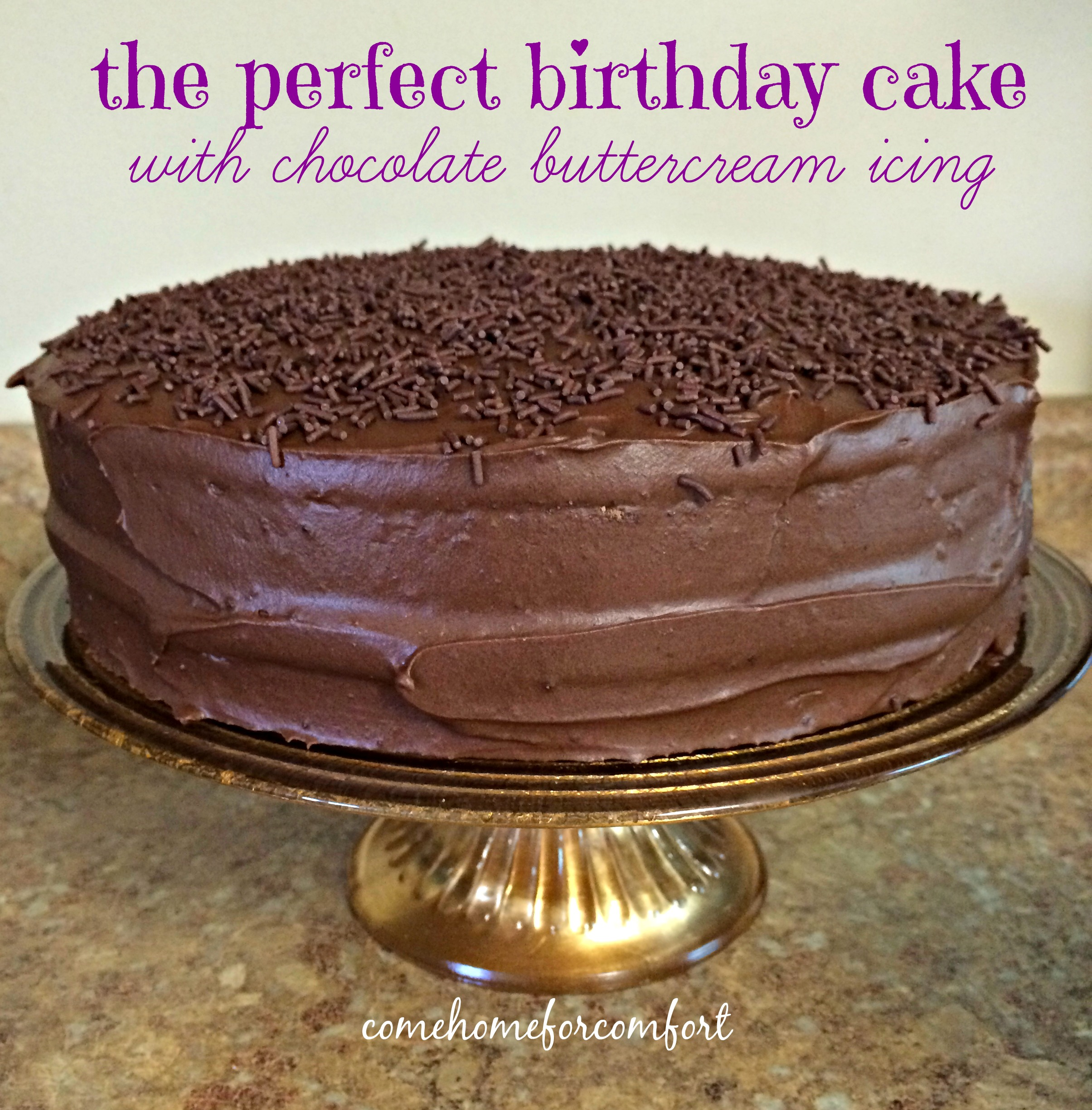Simple Summer Menu – and birthday cake from scratch! – Come Home ...