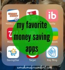 My Favorite Money Saving Apps