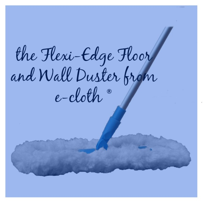 Cleaning Pet Hair with the Flexi Edge Floor and Wall Duster From Ecloth