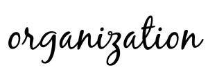 organization title