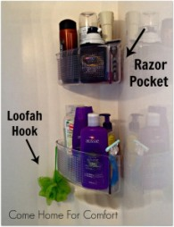 Organizing The Shower Come Home For Comfort