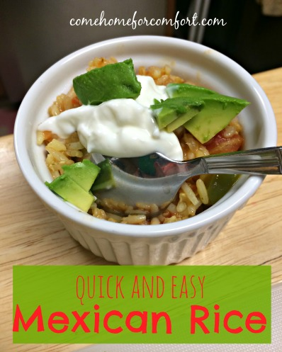 Quick and Easy Mexican Rice Come Home For Comfort