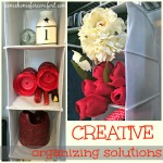 Creative Organizing Solutions Come Home For Comfort
