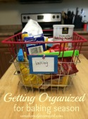 Get Organized For Baking Season Come Home For Comfort