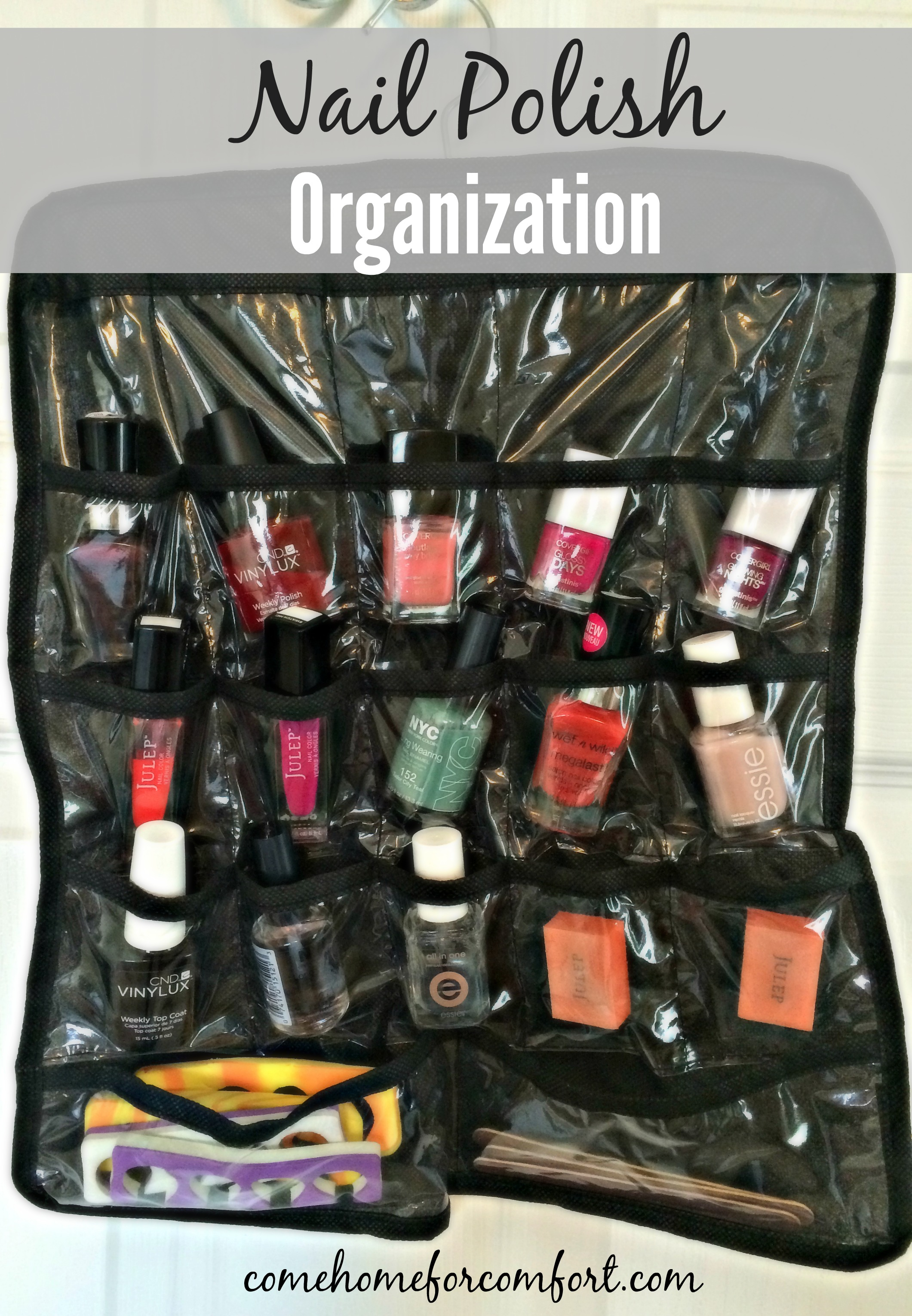 Nail Polish Organization – Come Home For Comfort