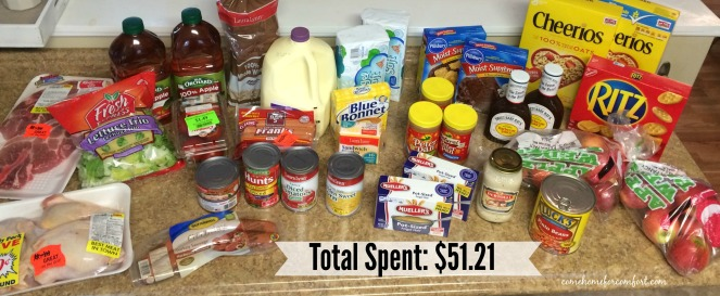 Ingles Grocery Haul Saving Money Come Home For Comfort