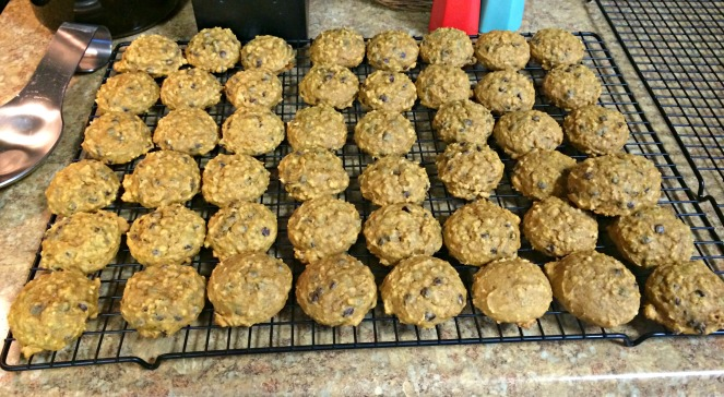 Pumpkin Oat Chocolate Chip Cookies Come Home For Comfort