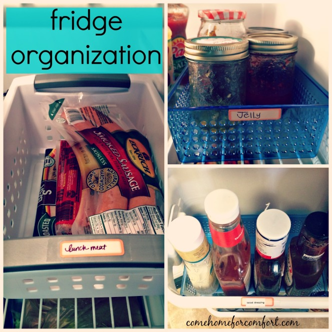 How to organize your refrigerator Come Home For Comfort 2