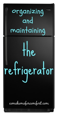 How to organize your refrigerator Come Home For Comfort 4