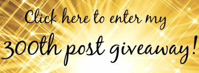 300th post giveaway