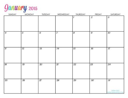 Free Printable Planners For 2015 – Come Home For Comfort