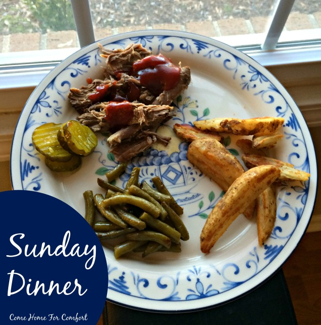 My favorite recipes for Sunday Dinner via ComeHomeForComfort.com