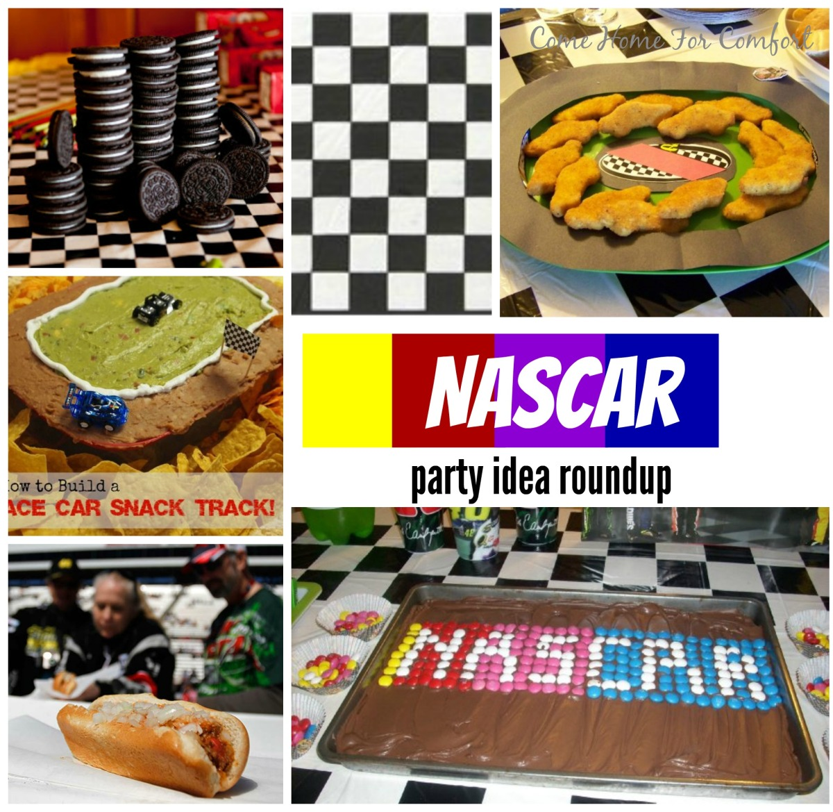 Nascar Party Ideas Come Home For Comfort