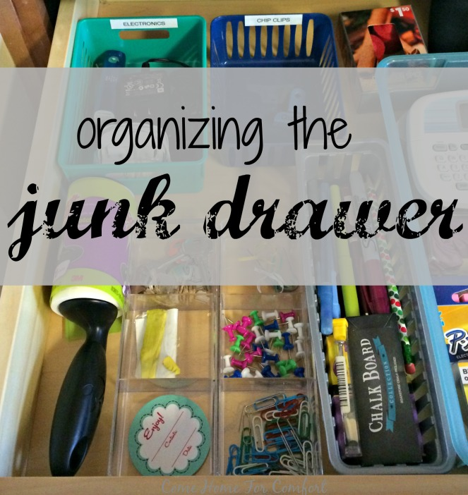 Organize The Junk Drawer via ComeHomeForComfort.com 6
