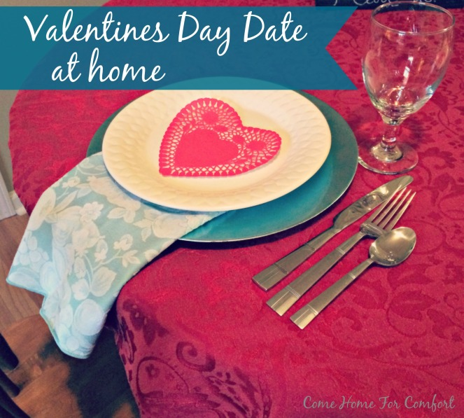 Valentines Day Date At Home via ComeHomeForComfort.com 2