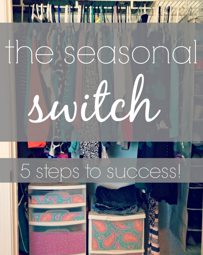The Seasonal Switch via ComeHomeForComfort.com