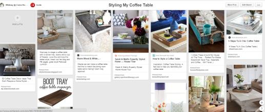 coffee table ideas on pinterest