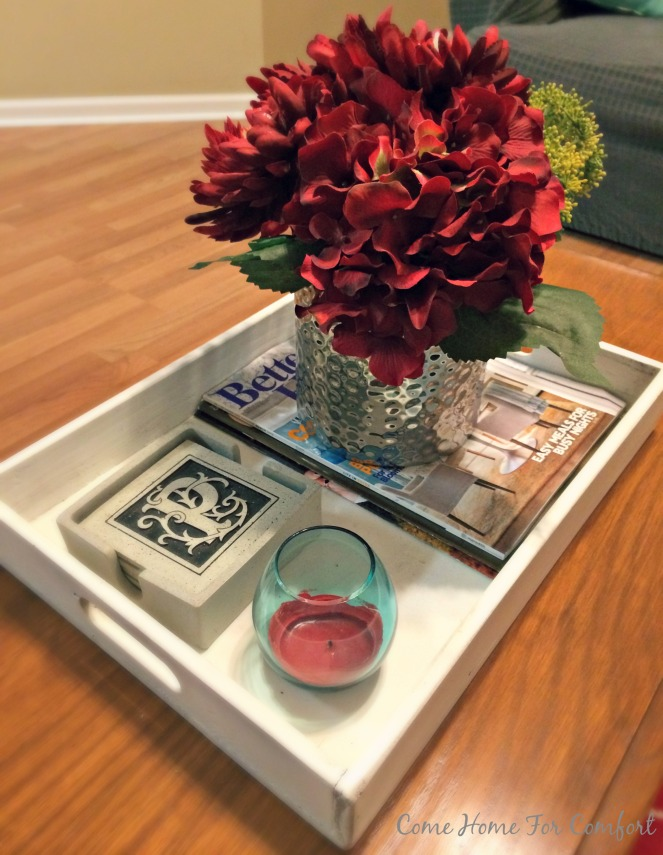 How To Style Your Coffee Table via ComeHomeForComfort.com