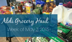Aldi Grocery Haul via Come Home For Comfort