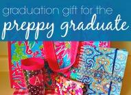 Graduation Gift Idea  Preppy Graduate Version via ComeHomeForComfort.com