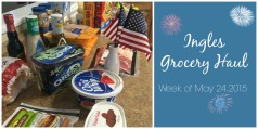 Ingles Grocery Haul and how to look for sales by the season via ComeHomeForComfort.com