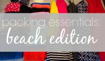 What to pack for the beach via ComeHomeForComfort.com