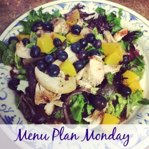 Menu Plan via ComeHomeForComfort.com