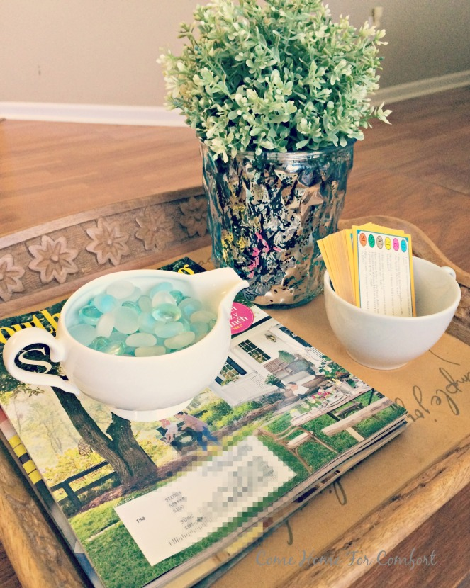 Summertime Decor via ComeHomeForComfort.com 7