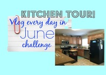 Vlog In June Challenge Cover Kitchen Tour