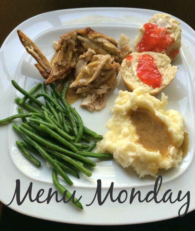 Menu Monday via ComeHomeForComfort.com