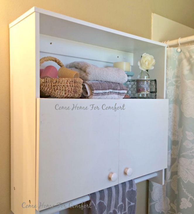 Bathroom Cabinet Re-Organization via ComeHomeForComfort.com 7