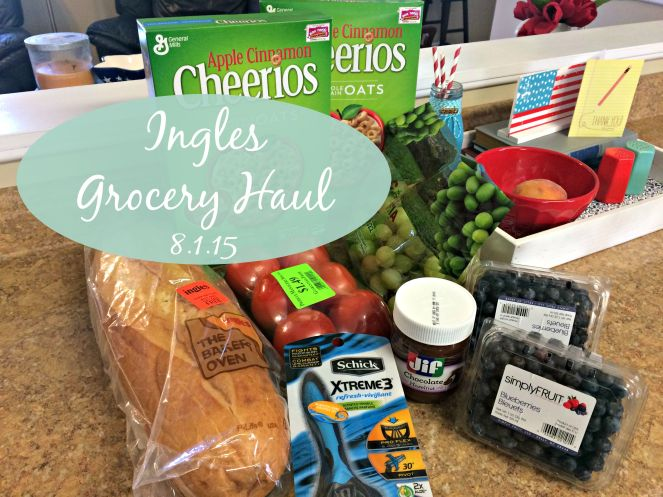 Ingles Grocery Haul 8.1.15 via ComeHomeForComfort